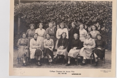 collège classique JF 1949-1950 sc ex site