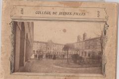 livret collège J.F 1912 001