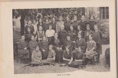 Classe de 3ème année 1922-1923