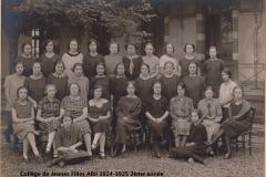 Collège JF 1924-1925 3ème année site