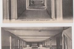 cartes postales dortoirs années 1920
