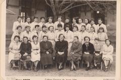 Collège classique de JF 2ème ABCM 1952-1953 site