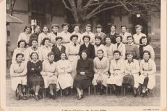Collège classique de JF sc ex 1952-1953 site